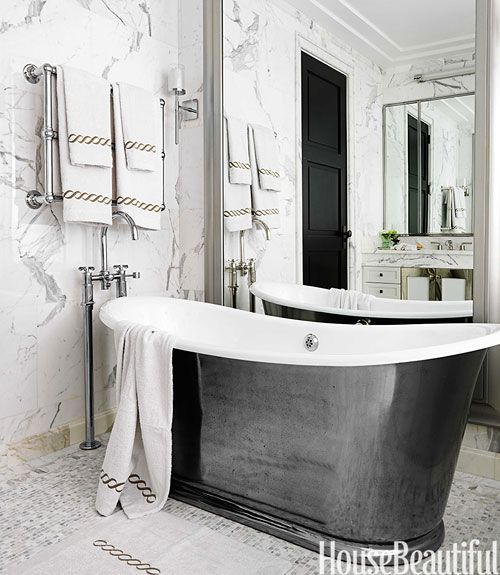 I Still Dont Fancy Silver Tubs But This Bathroom Looks Right