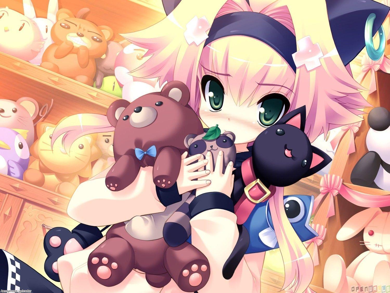 Cute Anime Cat Girl 1500x1125 Anime Girl Wolfs Pinterest