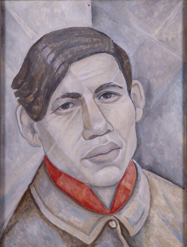 Marie Vorobieff (Marevna) (Russian-British, 1892 - 1984) The Portrait of Chaim Soutine, 1955