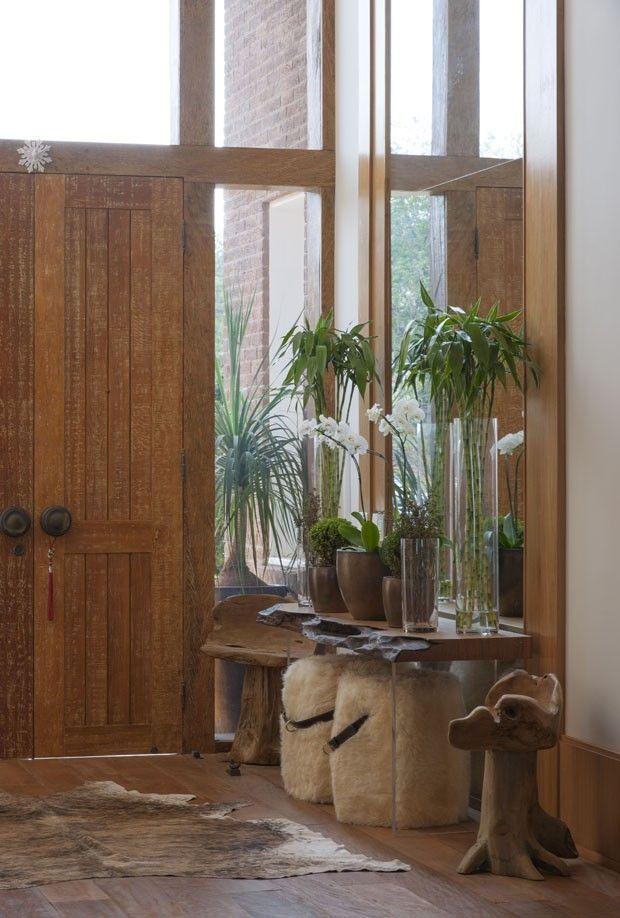 Decora con encanto el recibidor de tu casa loft for Entradas de casas rusticas