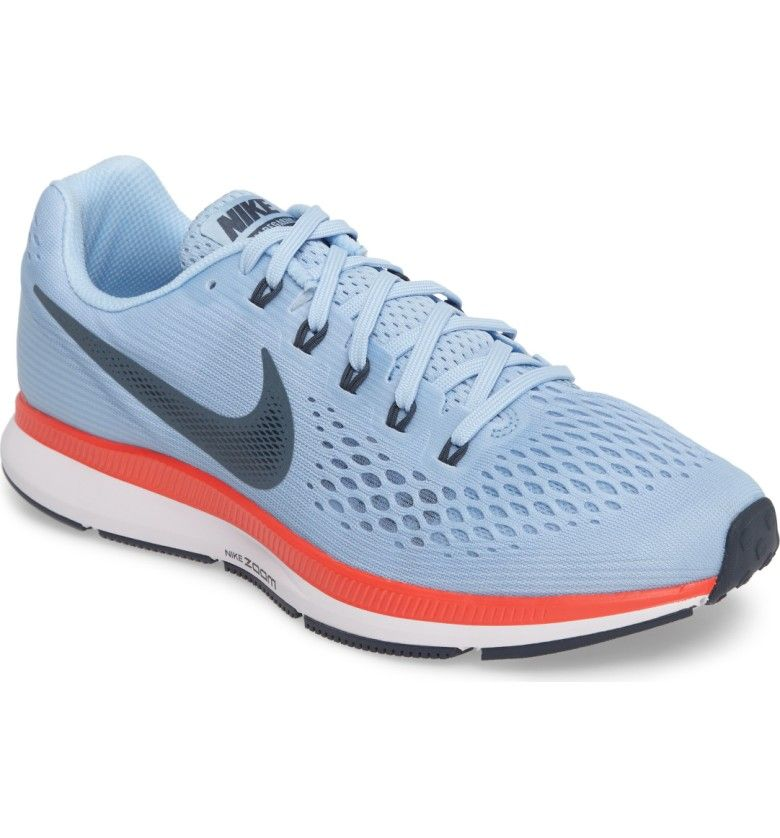 Main Image - Nike Air Zoom Pegasus 34 Running Shoe (Women)  bb8bc9cc41