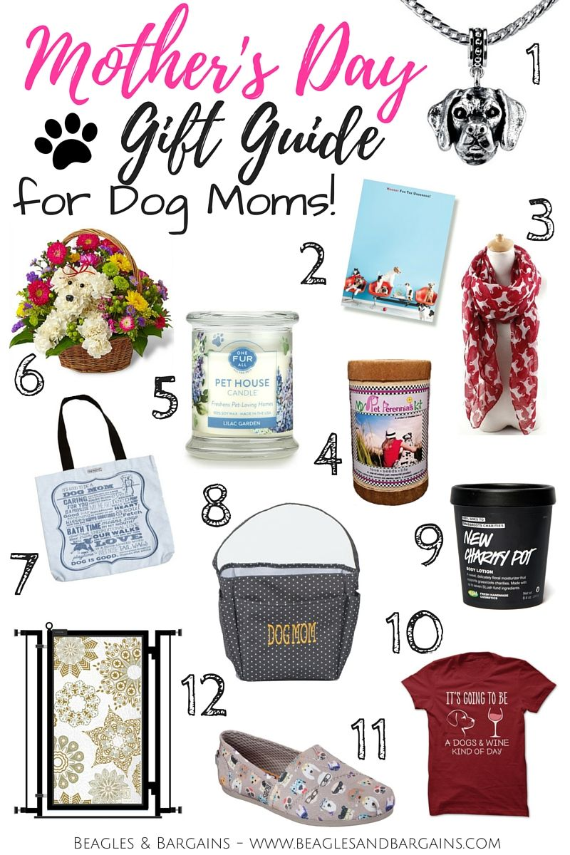 12 perfect mothers day gifts for dog moms dog gifts