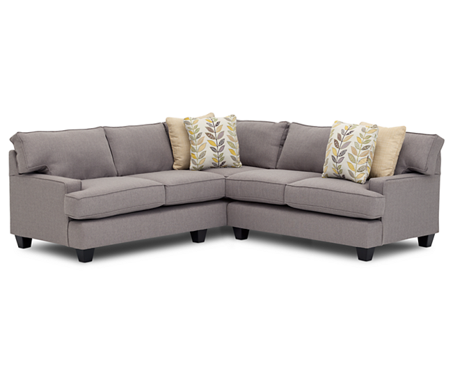 Charmant Livingston 2 Pc. Sectional   Furniture Row
