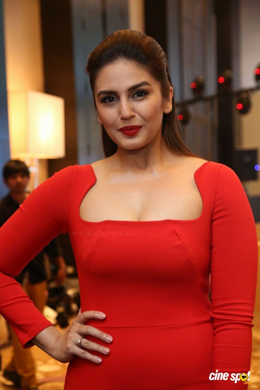 Huma Qureshi at SIIMA Press conference pics Actresses in