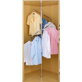 Shop Rev A Shelf Spiral Cloths Rack At Lowes Com Clothing Rack