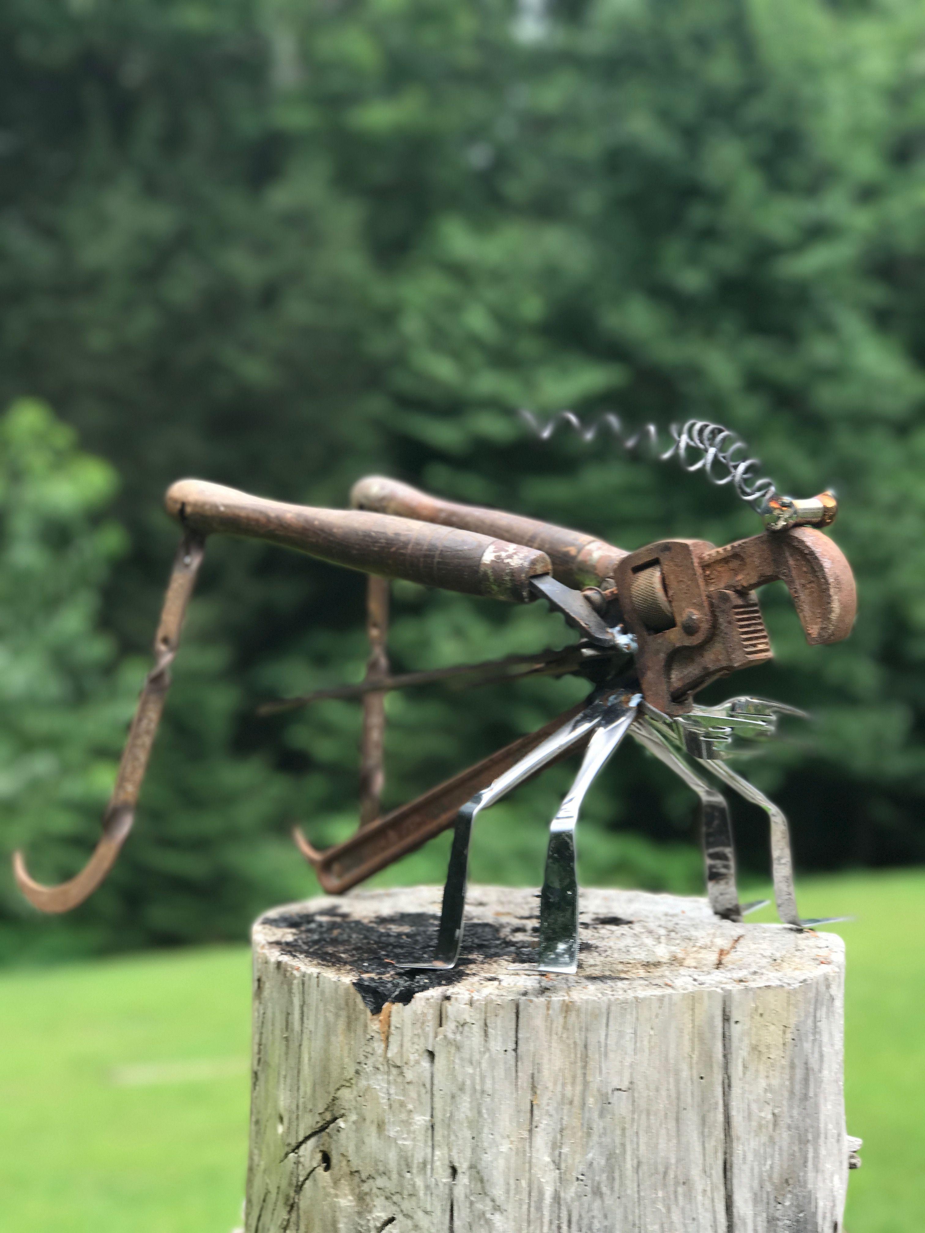 Pin By Michelle Mendez On Honey Please Make Metal Art Metal Art Sculpture Scrap Metal Art