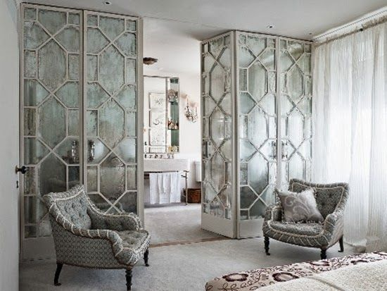 Mirrored Room Dividers Home Wall Divider Mirror Room