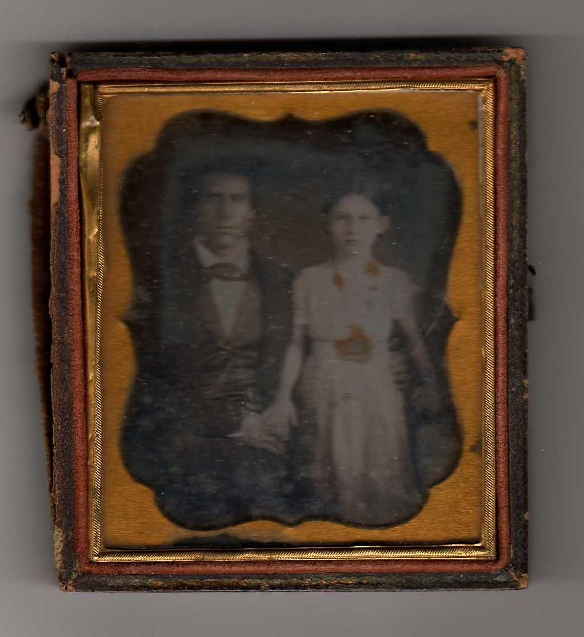 Nat Cheairs and daughter, Jenny