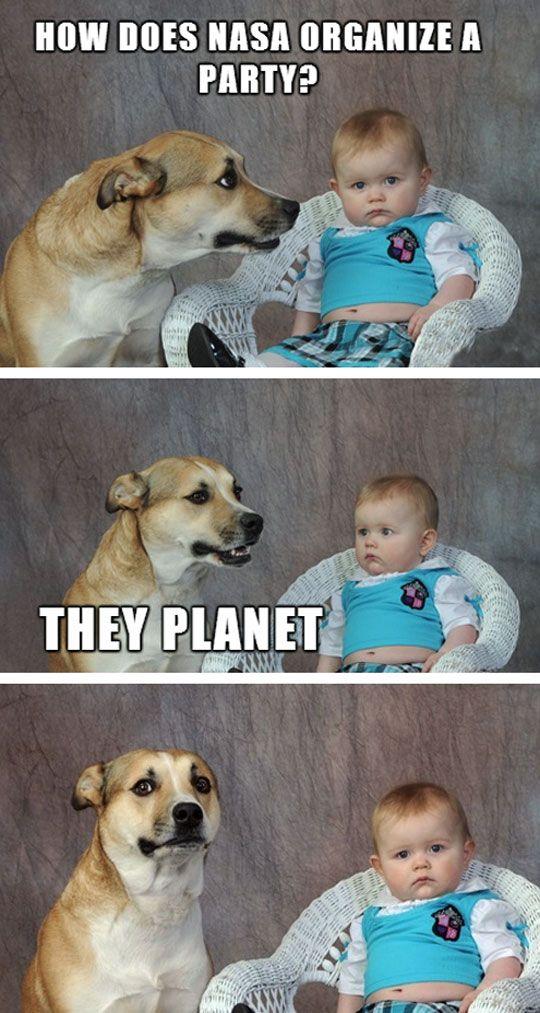 Nasa jokes quotes