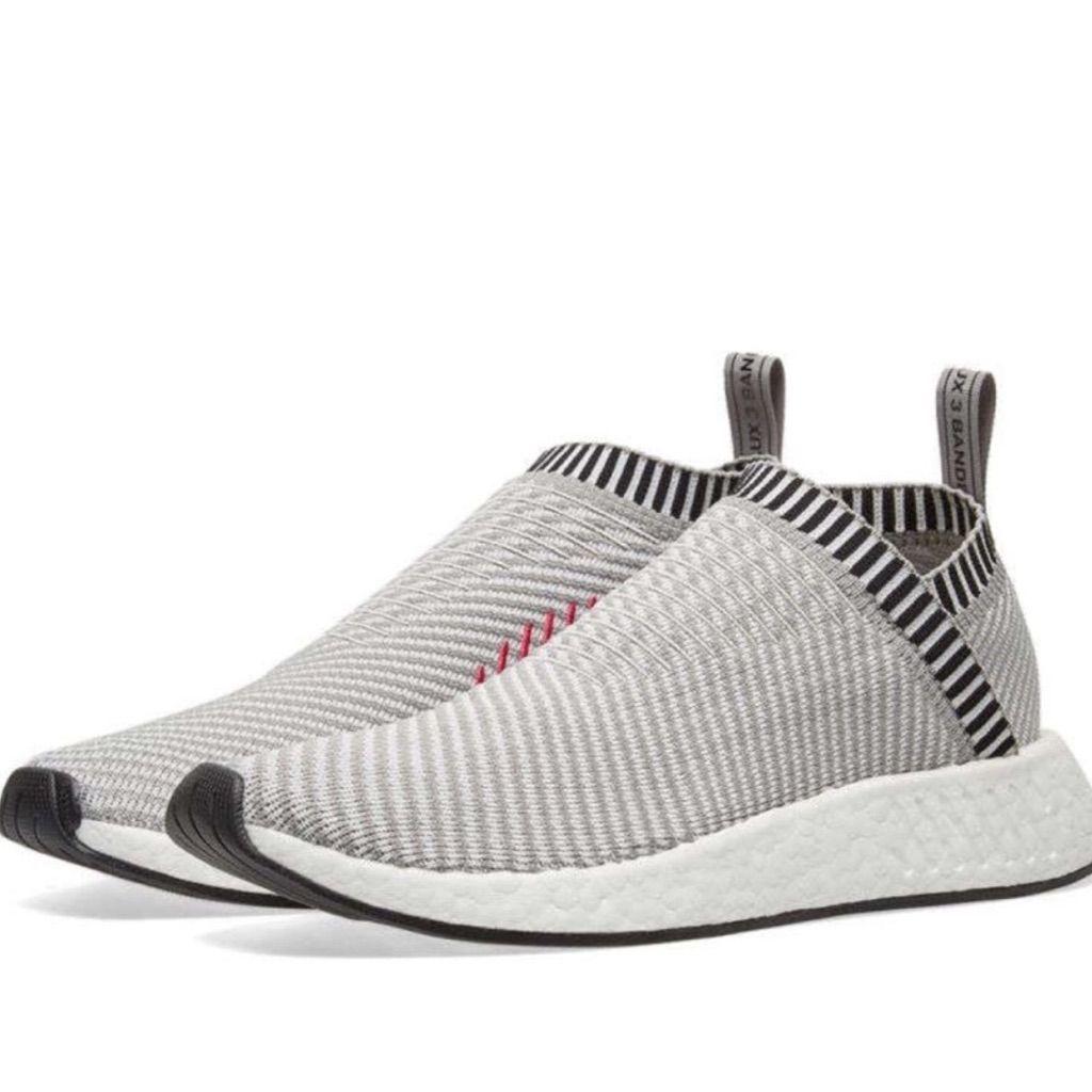 adidas Shoes Adidas Nmd_Cs2 Prime Knit Grey And Pink