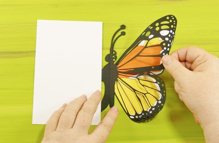 Easy Butterfly Card Diy Pop Up Tutorial Jennifer Maker Butterfly Cards Get Well Cards Fun Fold Cards
