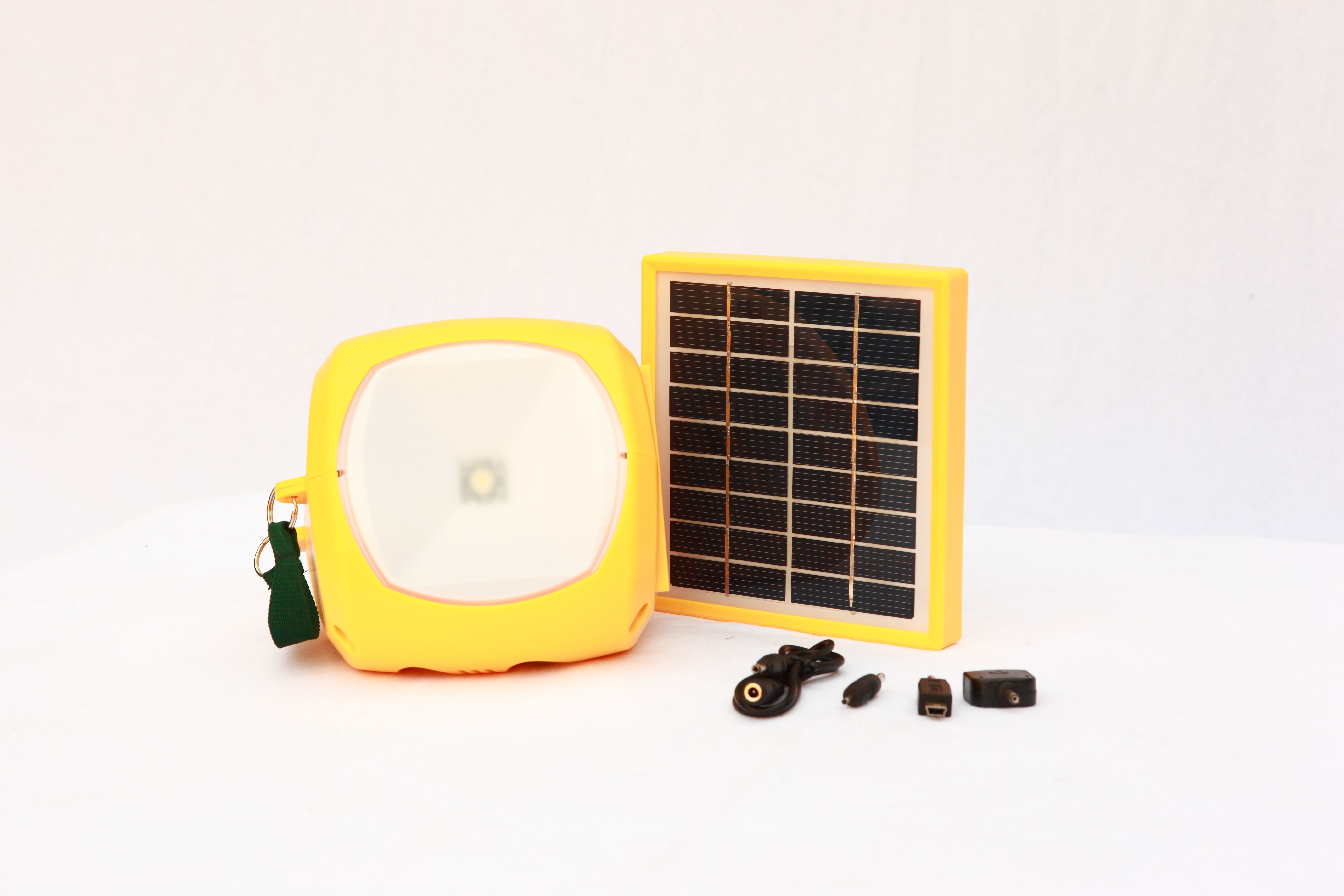 a solar powered lantern with its own portable solar panel 48 99