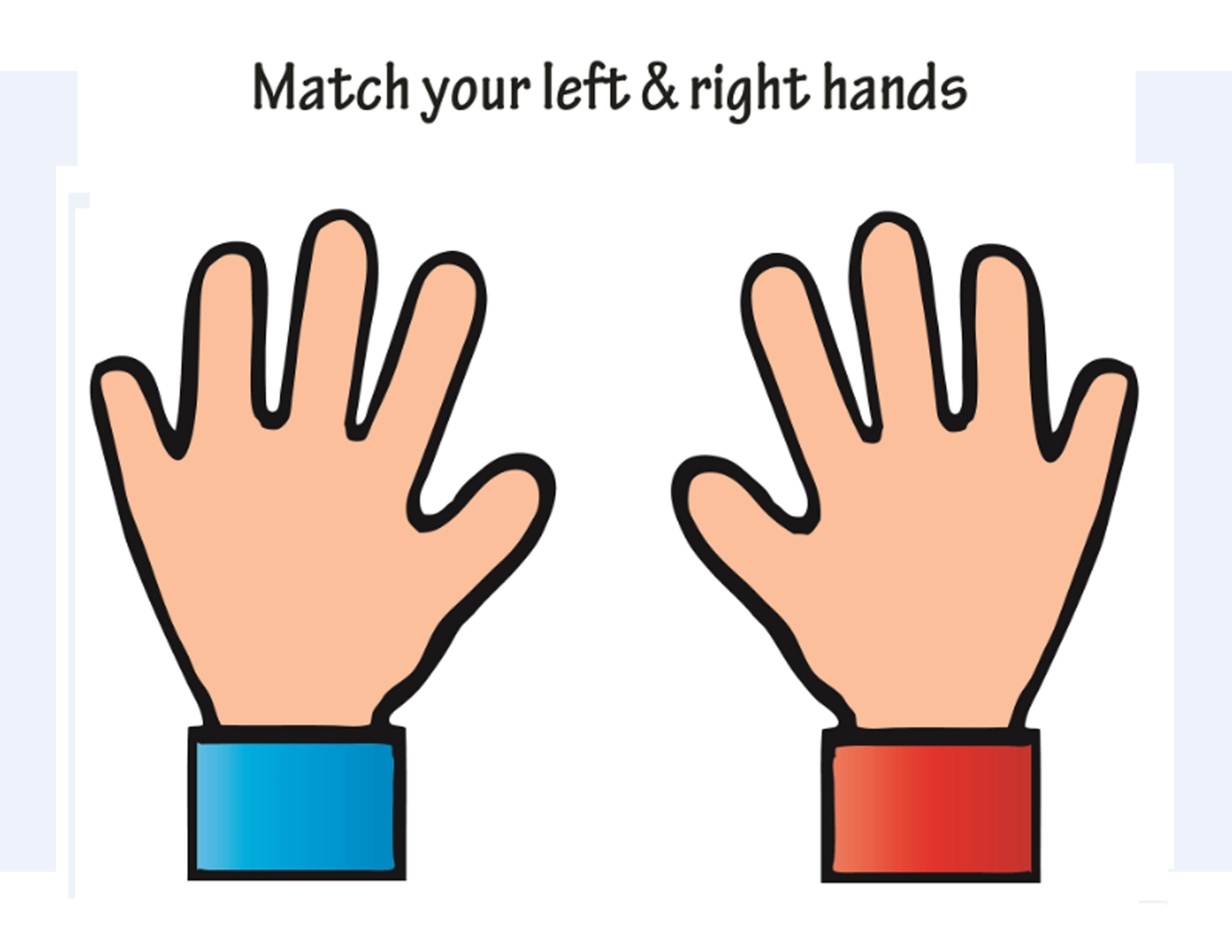 Children S Printable Activities To Learn Left And Right
