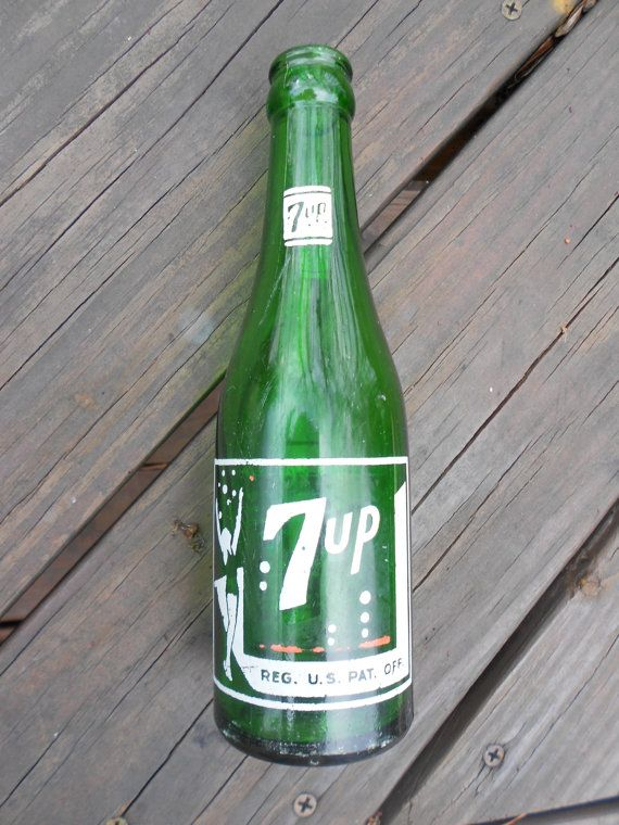Old 7 up bottle