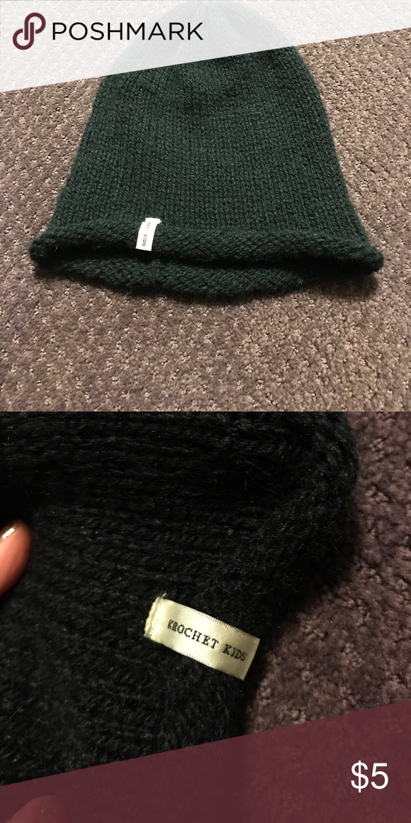 ... canada shop womens krochet kids black size os hats at a discounted  price at poshmark. c7b2d9b4d17d