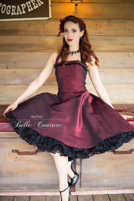 Belle robe annee 50