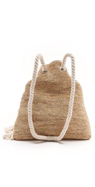 Bop Basics Raffia Crochet Backpack   SHOPBOP