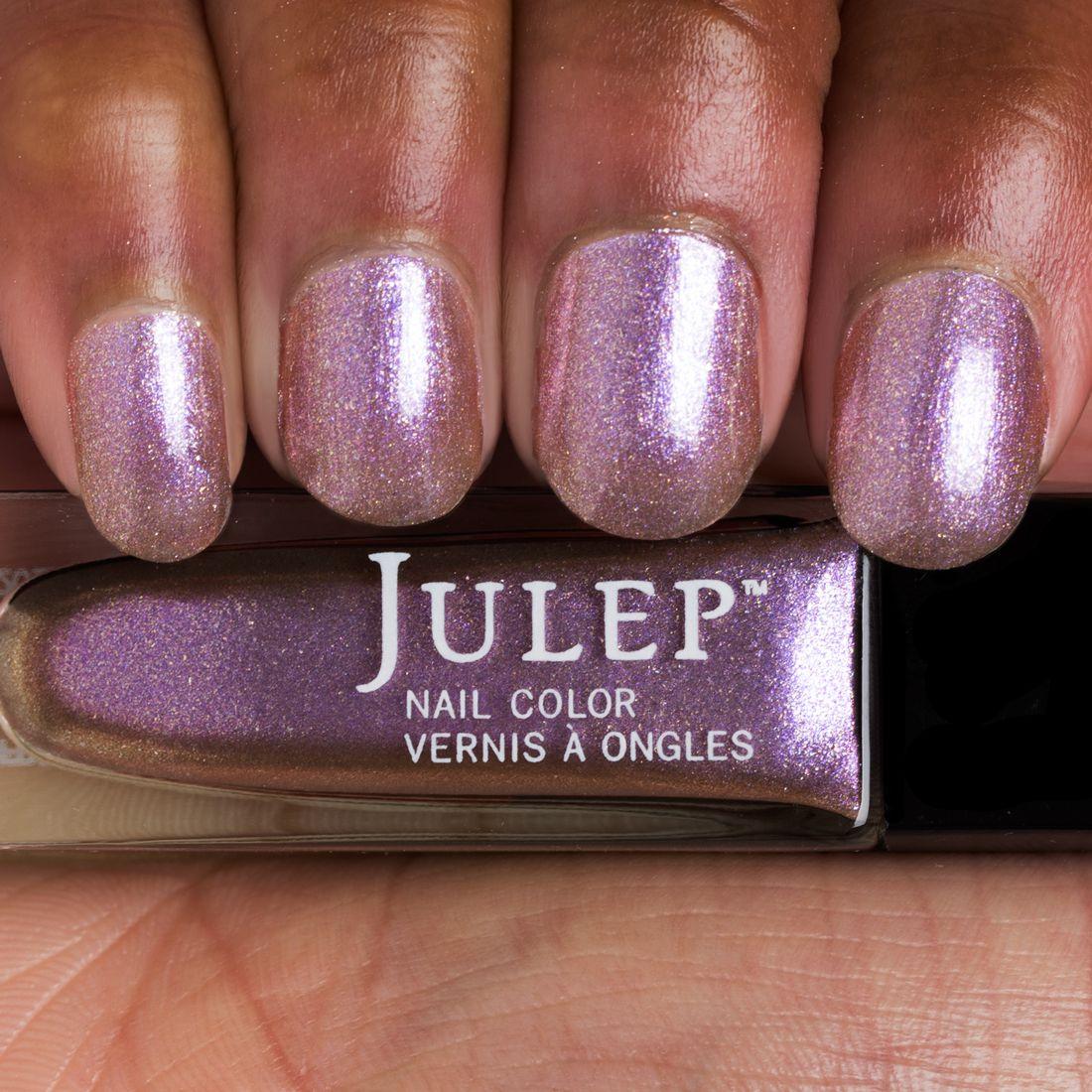 Phia- Alluring orchid iridescent chrome | nAiLs | Pinterest | Nail ...