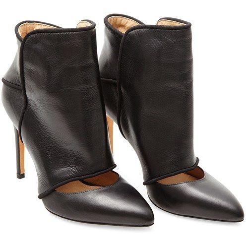 Kasia høj læder støvlet - YouHeShe