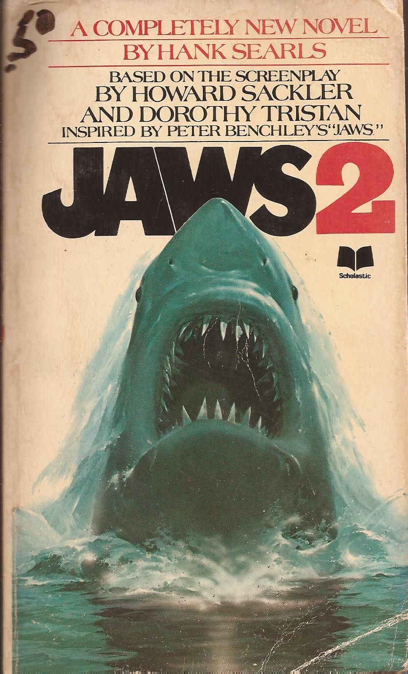 Jaws Book Cover Art : Jaws by hank searls books pinterest movie and