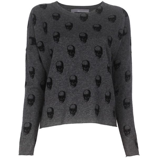 360 Sweater Jackaline Skull Knit ($310) ❤ liked on Polyvore