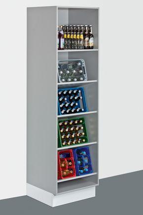 Getränkeregal Buche | Regal, Hauswirtschaftsraum ideen, Ideen