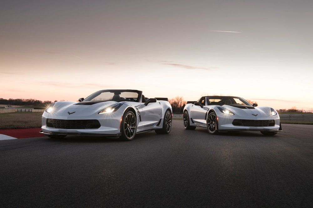 Chevy offers the Carbon 65 Edition package on both coupe and convertible models