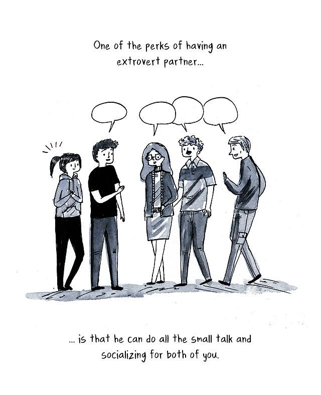To girl an introvert to talk how How to