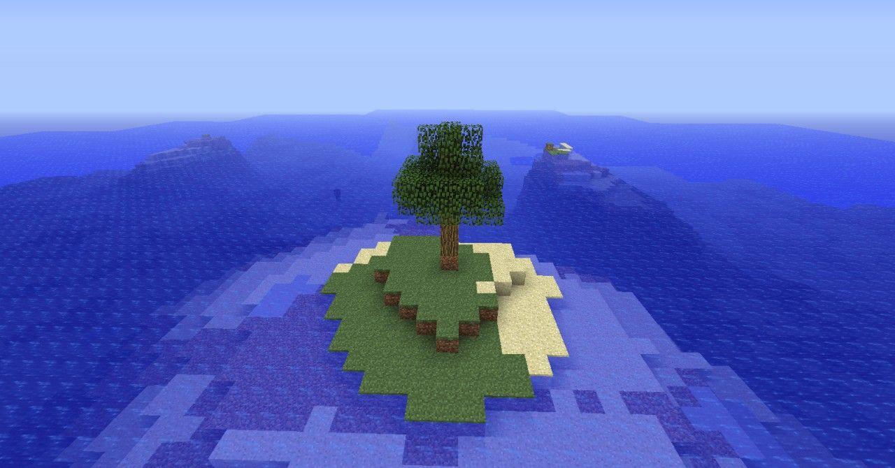 minecraft survival island seed | Survival Island Seed! Minecraft