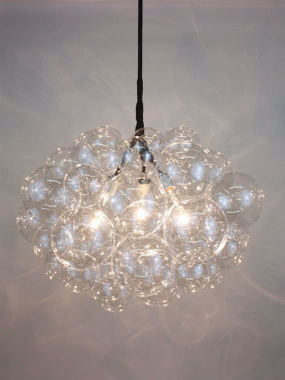 Bring In The Airy Lightness Of A Summer Sky To Warm Your Home Throughout The Seasons Comprised Of Thirty Crystal Clear Large Glass Bubbles Su
