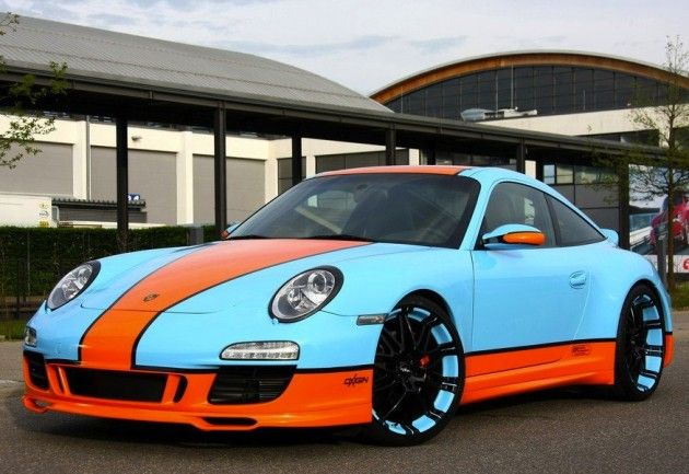 993 Gulf Colours Autos Automoviles Porsche
