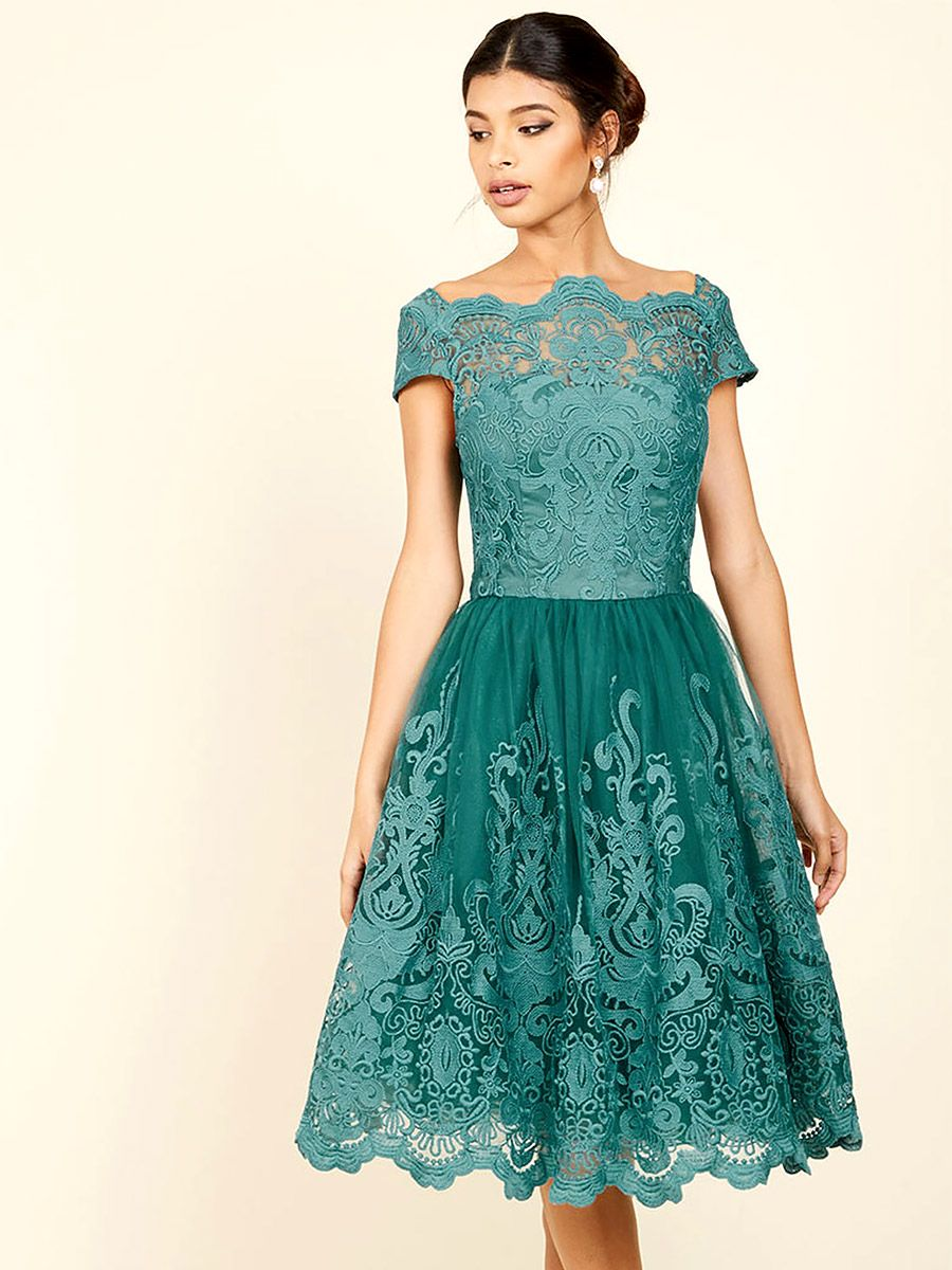 Dress for wedding guest spring  Chi Chi London spring wedding guest dresses  dress  Pinterest