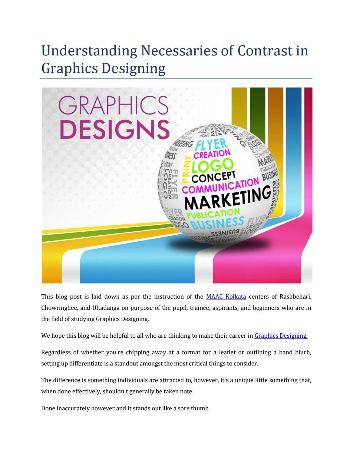 Understanding necessaries of contrast in graphics designing pdf also rh pinterest