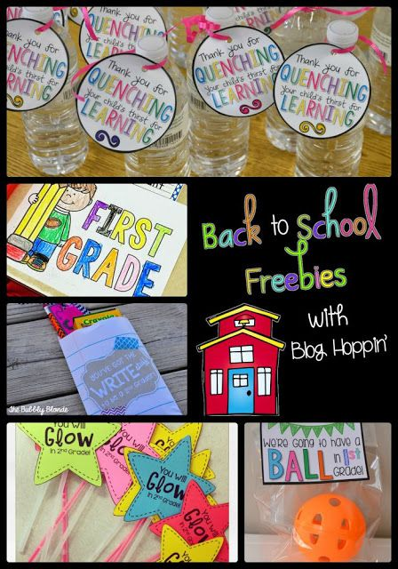 Blog Hoppin': Back to School FREE Printables ...