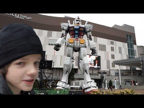 Самый большой в Мире робот Гандам - YouTube