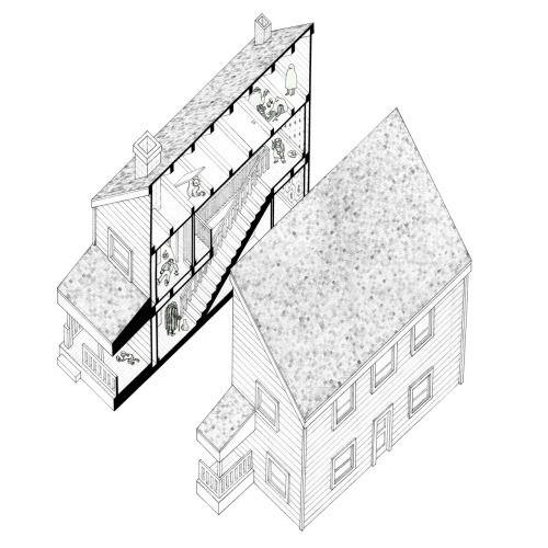 Alison+Peter Smithson Put Away House courtyard Pinterest - village expo portet sur garonn