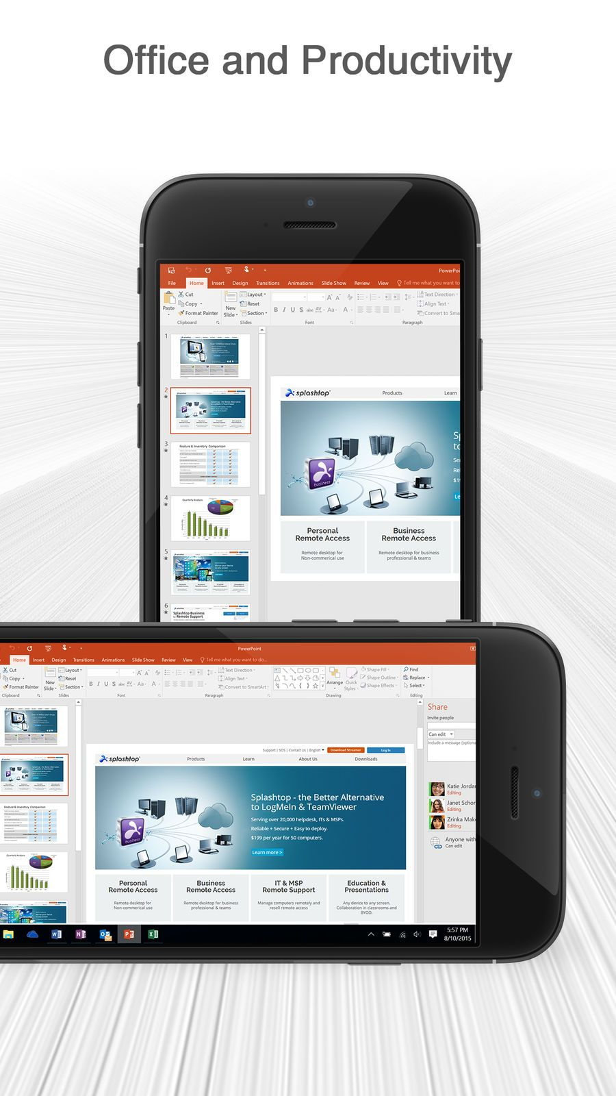 Splashtop Personal for iPhone iosProductivityappapps