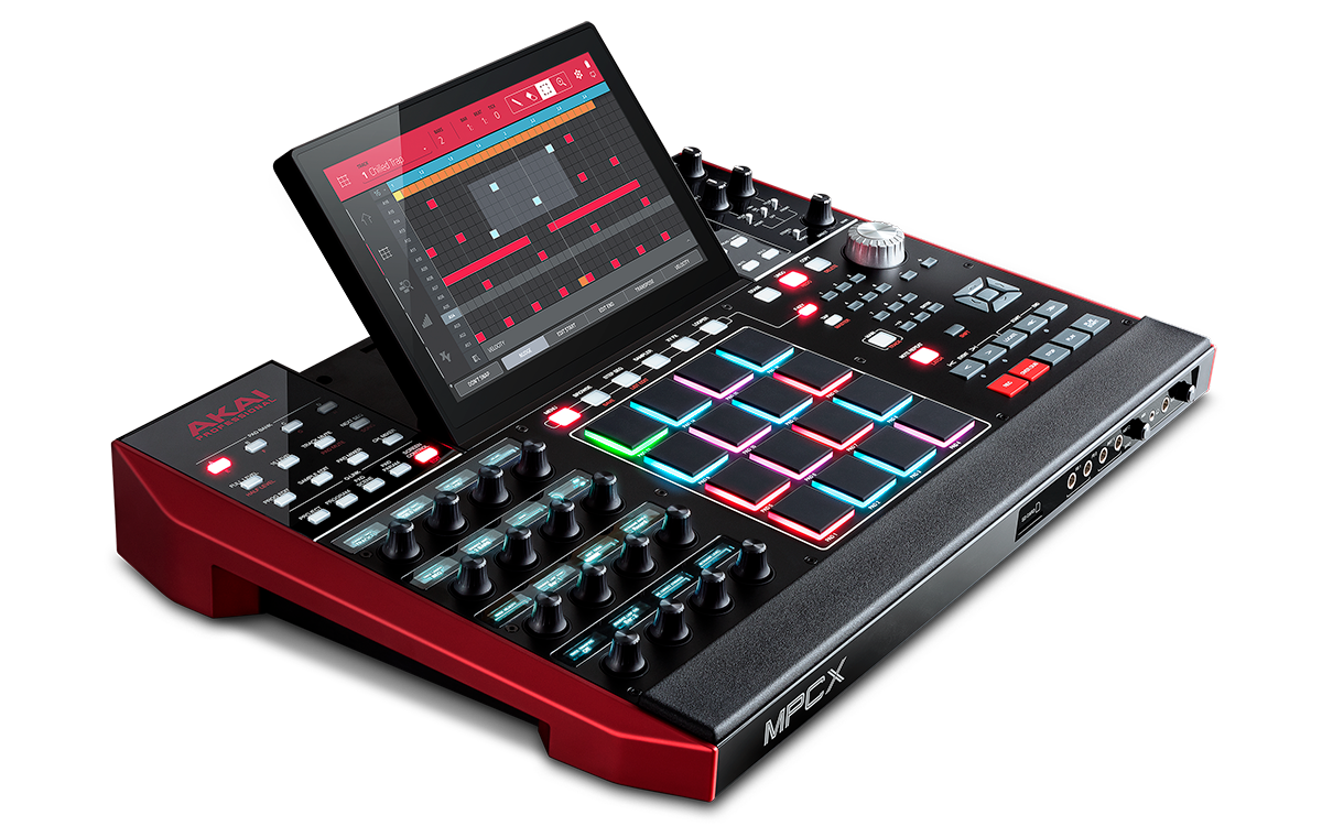 Akai MPCX standalone drum machine Audio, Music