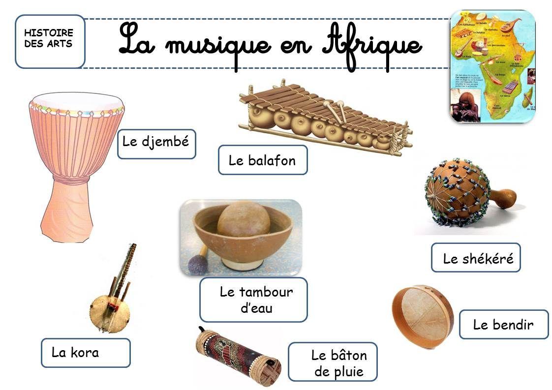 LES INSTRUMENTS DE MUSIQUE AFRICAINS  La classe de  ~ Instrument En Bois Africain