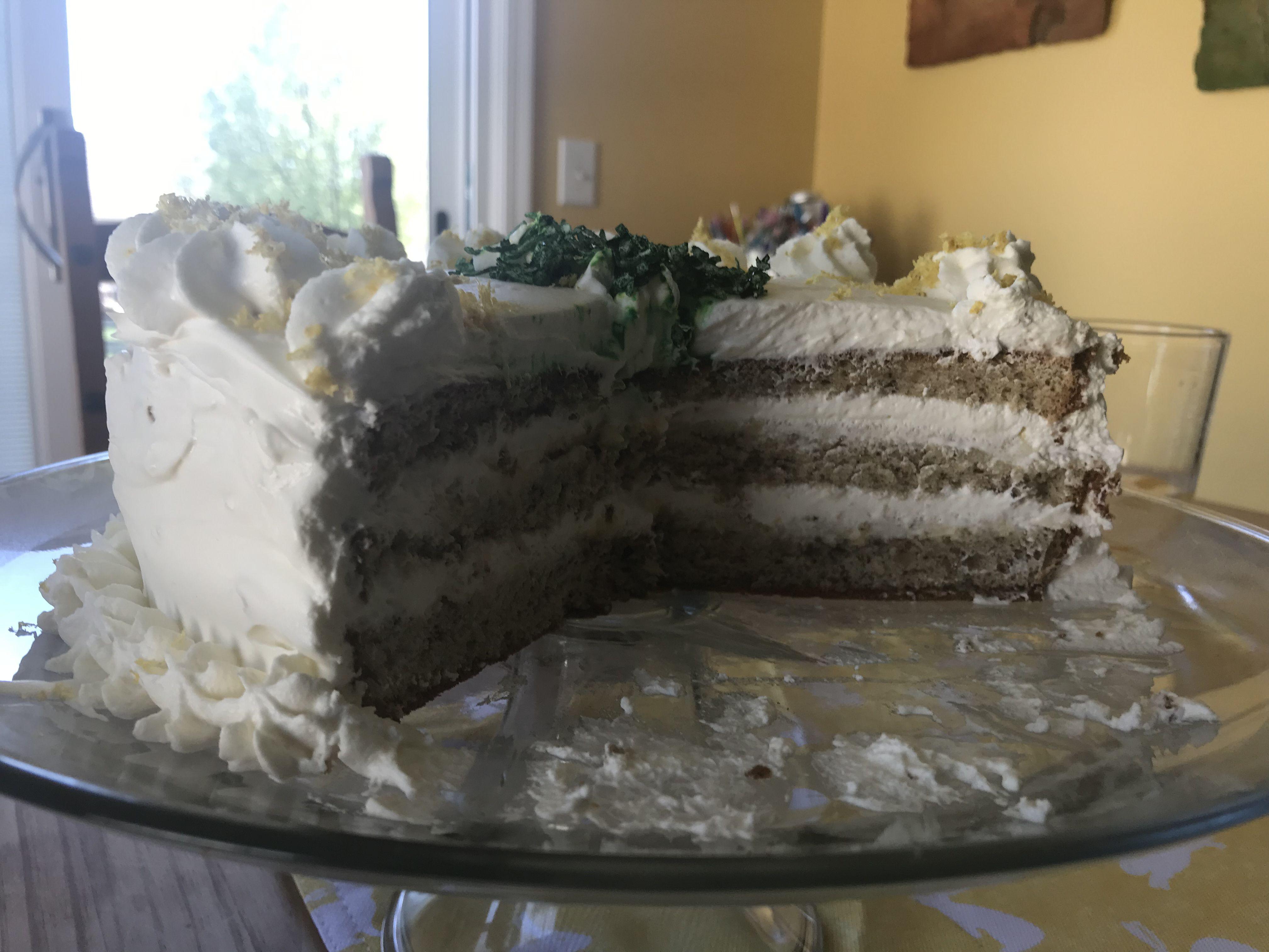 Lemon curd Cake Decorating Photos