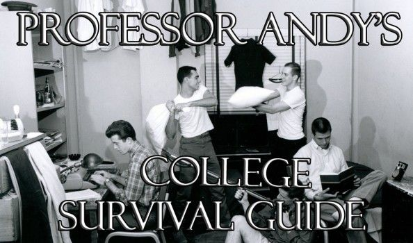 Professor Andy's College Survival Guide #9 – Your Reputation