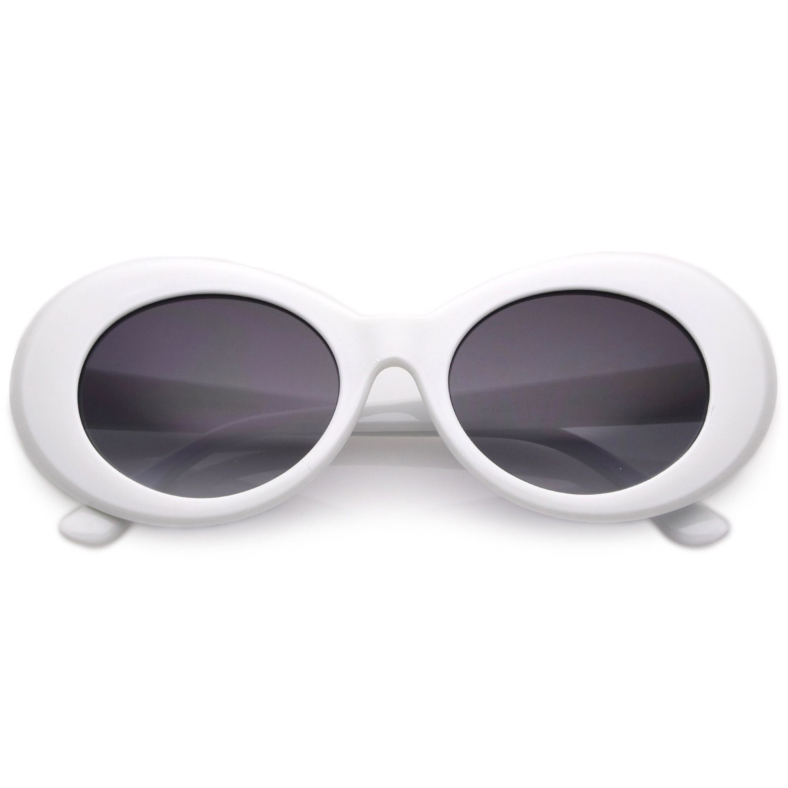 6cf794e216 Retro Clout Oval Round 90 s Gradient Lens Sunglasses C448 in 2019 ...
