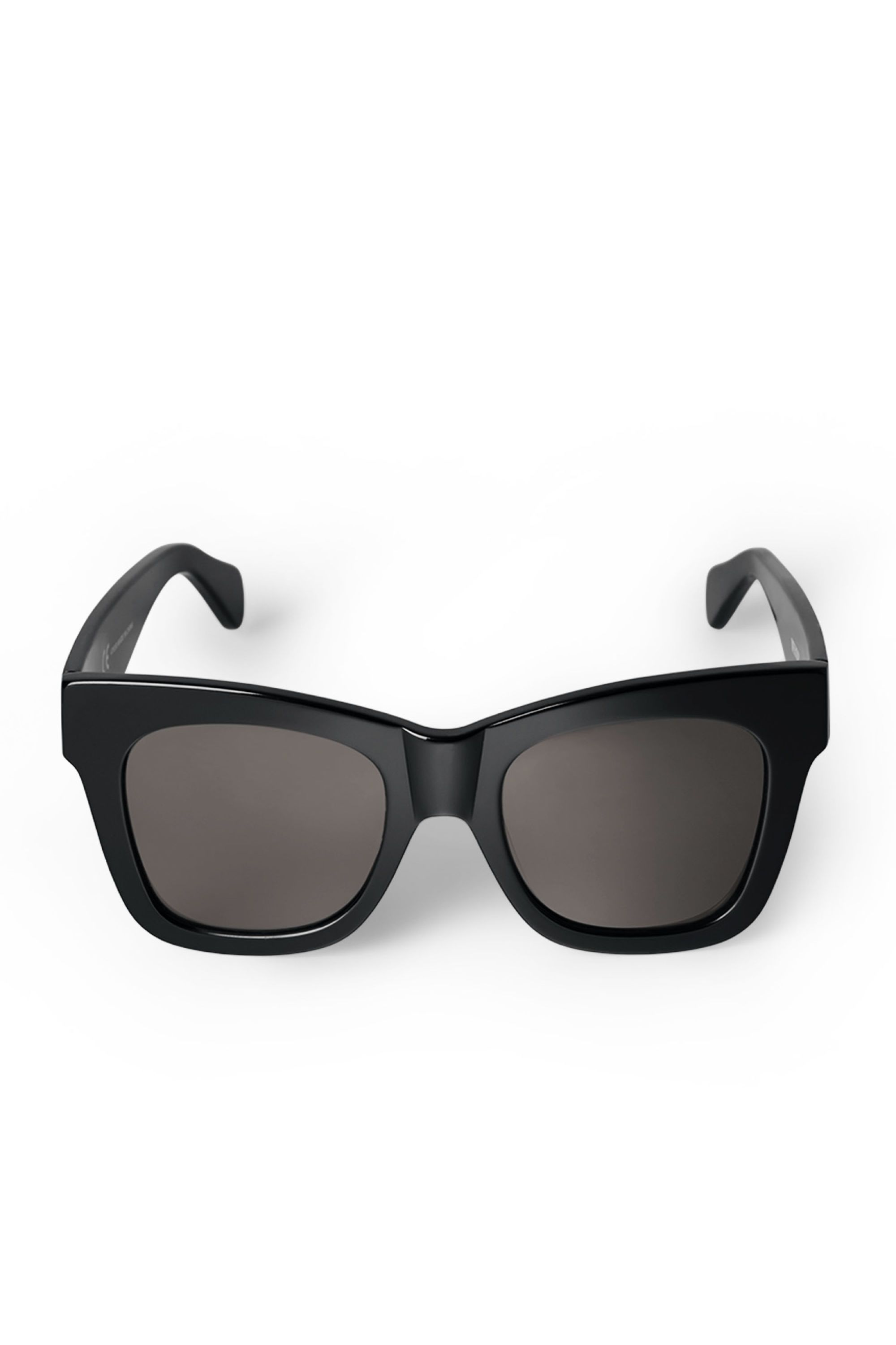 2c33407fa43 Voyager Acetate Sunglasses are rectangular statement glasses with thick  black frames with a melange pattern in