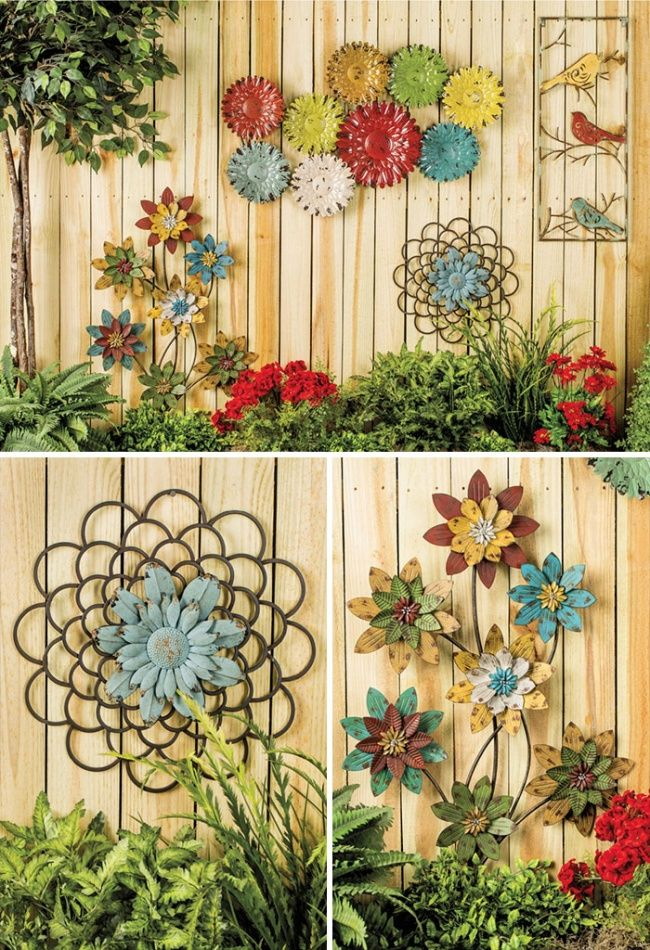 30+ Cool Garden Fence Decoration Ideas | Garden fencing, Fences and ...