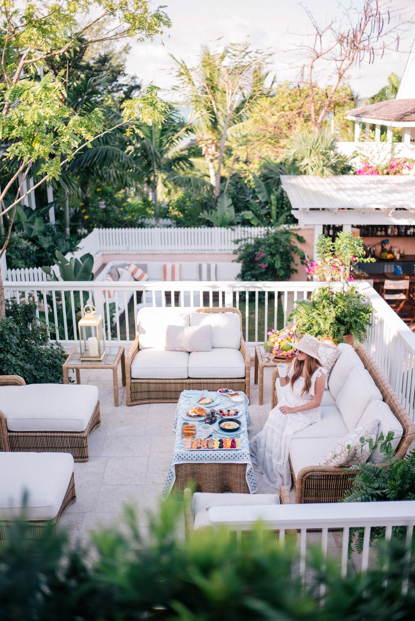 Home garden furniture  Bahama House Inn  t r a v e l  Pinterest  Castaner espadrilles