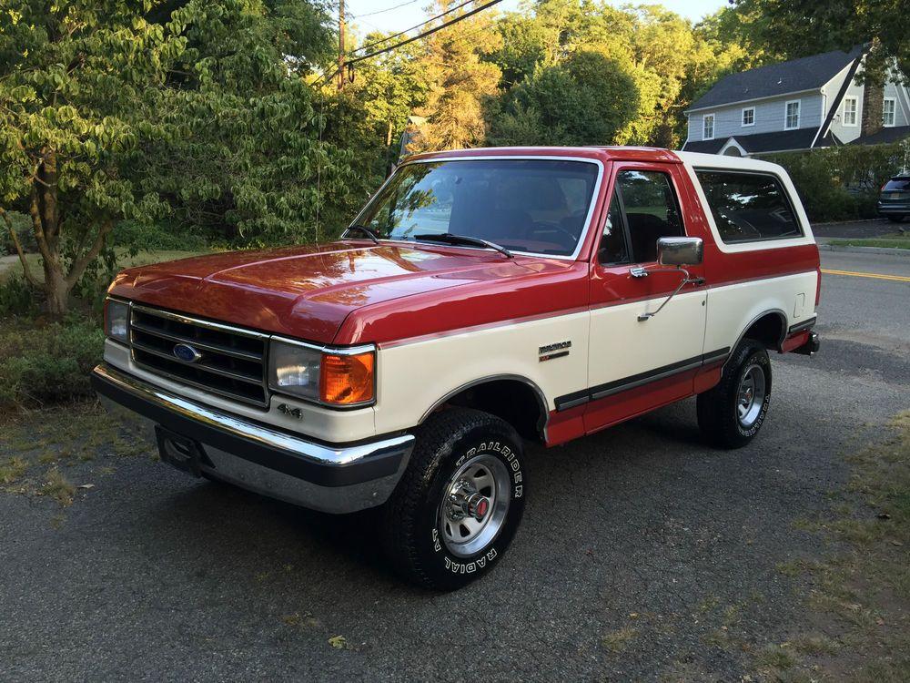 1990 Ford Bronco Xlt 89k Actual Miles Original Paint Survivor