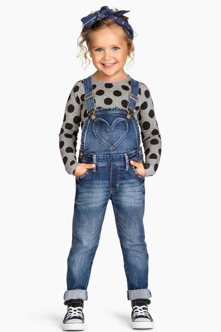 Toddler Kid Baby Girls Fashion Denim Button Down Tops Long Sleeve Blouses with Waistband Autumn Winter Outfits