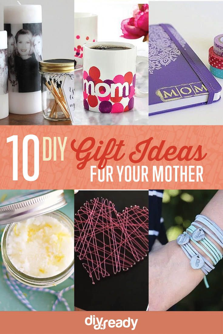10 DIY Birthday Gift Ideas for Mom | Projects to Try | Pinterest ...