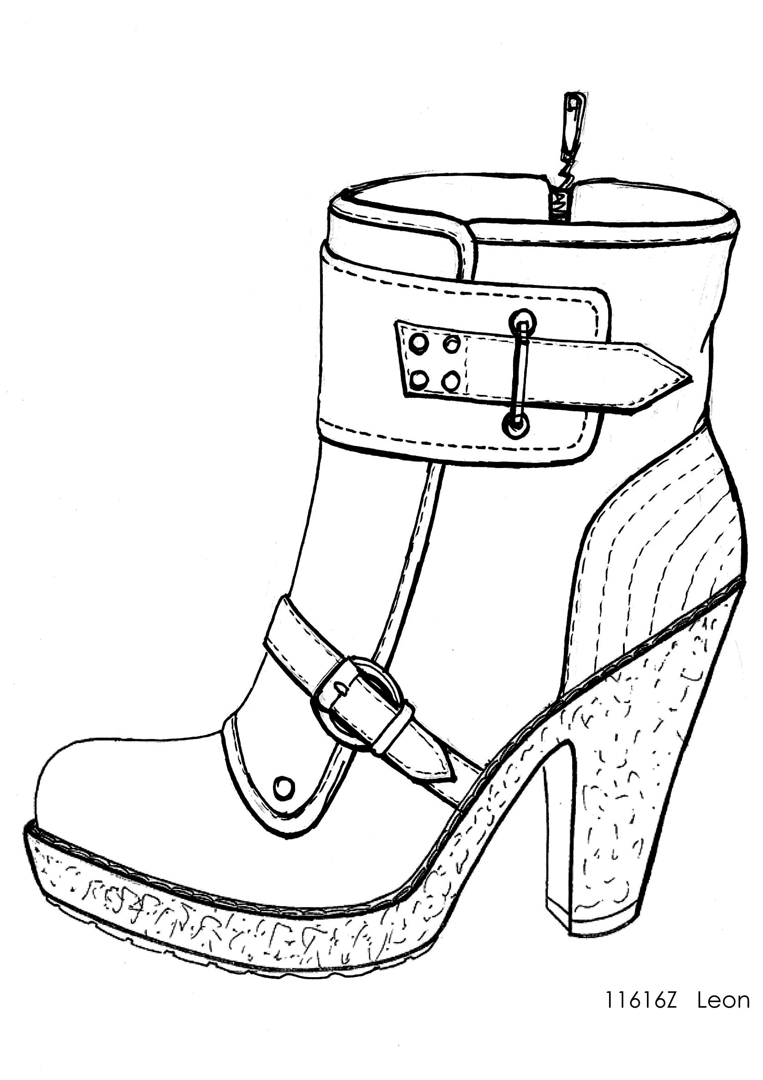 more photos 6b4ff c7270 designer shoe sketches - Google Search