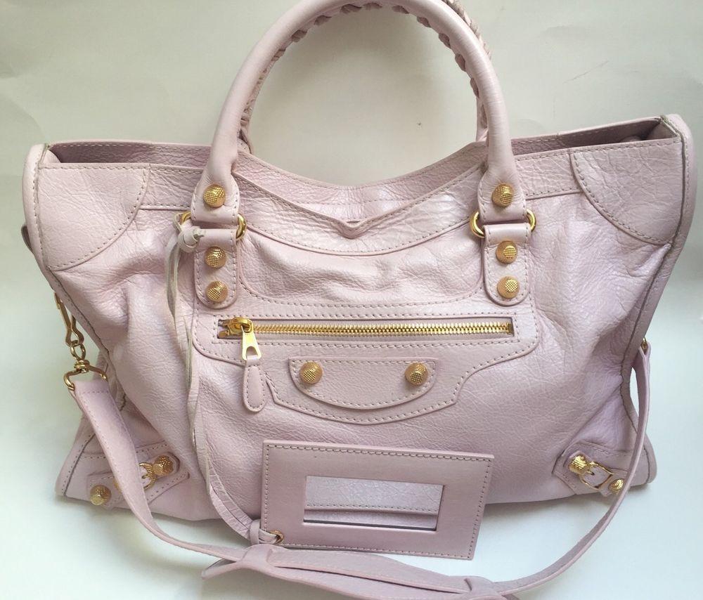 45f20f5a6d8 Authentic Balenciaga Classic City Bag - Light Pink #Balenciaga #Satchel